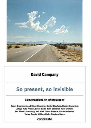 9788869657412-8869657418-So Present, So Invisible: Conversations on Photography
