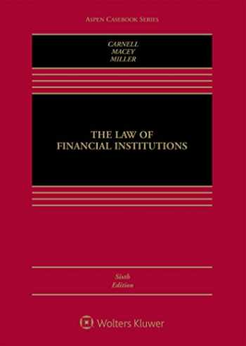 9781454871040-1454871040-The Law of Financial Institutions (Aspen Casebook)