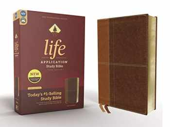 9780310452829-0310452821-NIV, Life Application Study Bible, Third Edition, Leathersoft, Brown, Red Letter