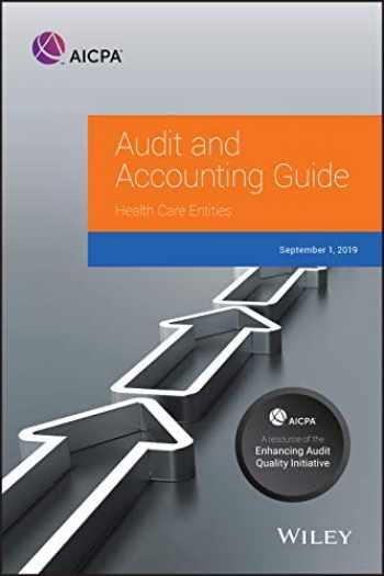 9781948306782-1948306786-Health Care Entities, 2019 (AICPA Audit and Accounting Guide)