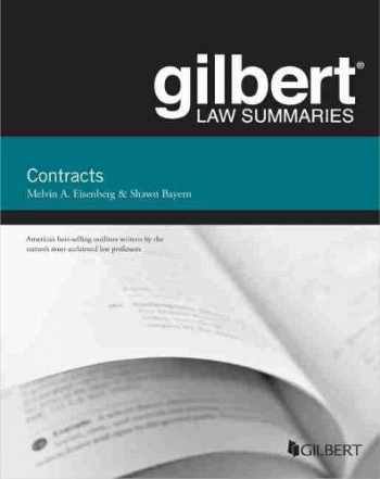 9780314276193-031427619X-Gilbert Law Summaries on Contracts