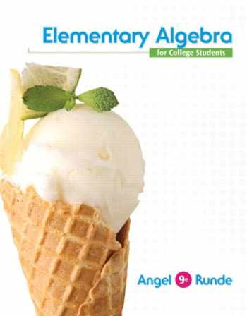 9780321868060-0321868064-Elementary Algebra For College Students (9th Edition)