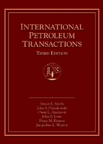 9781882047482-1882047486-International Petroleum Transactions