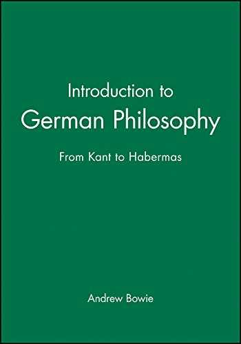 9780745625713-0745625711-Introduction to German Philosophy: From Kant to Habermas