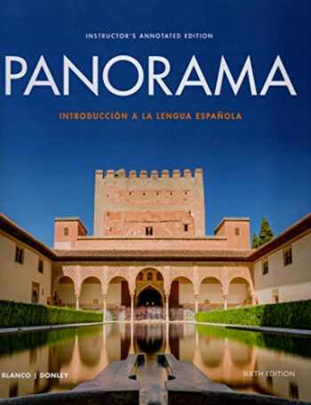 9781543312348-1543312349-Instructor's Annotated Edition for Panorama (6th Edition), Standalone Book