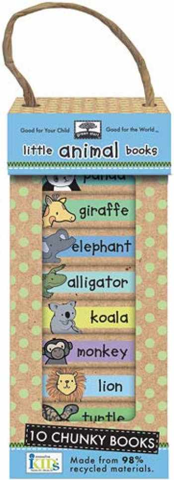 9781601690043-1601690045-Green Start Book Towers: Little Animal Books: 10 Chunky Books Made from 98% Recycled Materials