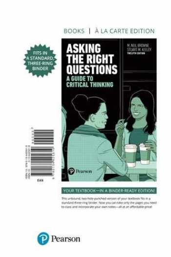 9780134425610-0134425618-Asking the Right Questions: A Guide to Critical Thinking -- Print Offer