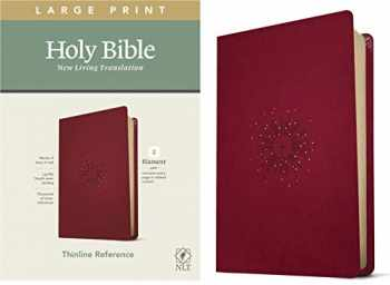 9781496444899-1496444892-NLT Large Print Thinline Reference Holy Bible (Red Letter, LeatherLike, Aurora Cranberry): Includes Free Access to the Filament Bible App Delivering Study Notes, Devotionals, Worship Music, and Video