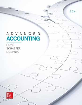 9781259444951-1259444953-LooseLeaf for Advanced Accounting (Irwin Accounting) - Standalone book