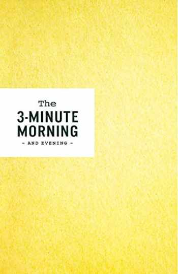 9781719572705-1719572704-3-Minute Morning Journal: Intentions & Reflections for a Powerful Life