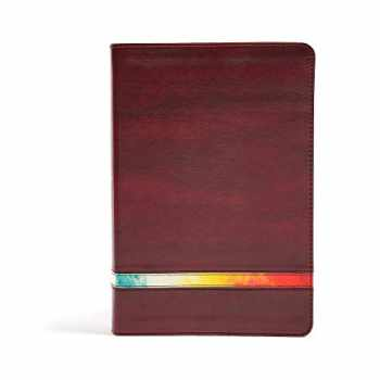 9781433646102-1433646102-NIV Rainbow Study Bible, Maroon LeatherTouch, Indexed