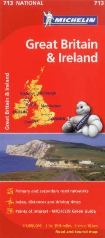 9782067170278-2067170279-Michelin Great Britain & Ireland Map 713 (Maps/Country (Michelin))