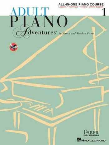 9781616773021-1616773022-Adult Piano Adventures All-in-One Piano Course Book 1: Book with Media Online