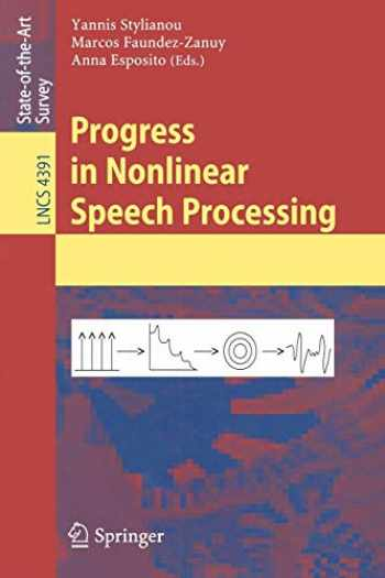 9783540715030-3540715037-Progress in Nonlinear Speech Processing (Lecture Notes in Computer Science, 4391)