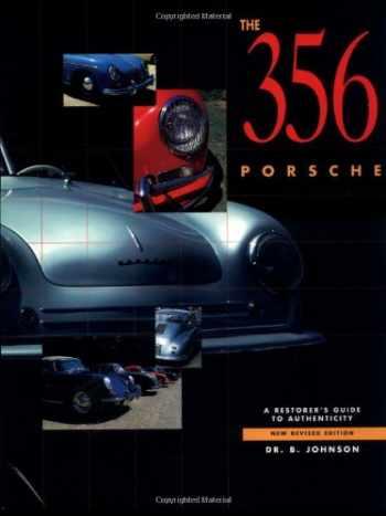 9780929758169-0929758161-356 Porsche: A Restorer's Guide to Authenticity