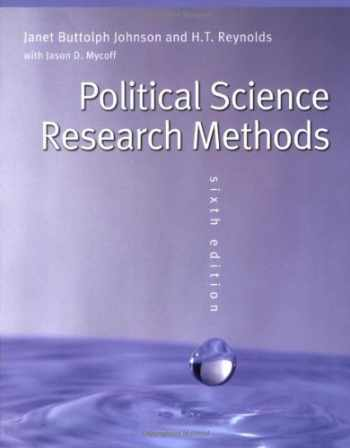 9780872894426-0872894428-Political Science Research Methods