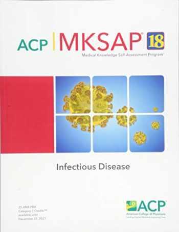 9781938245565-1938245563-MKSAP (R) 18 Infectious Disease