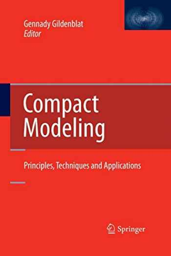 9789400793248-9400793243-Compact Modeling: Principles, Techniques and Applications