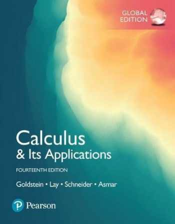 9781292229041-1292229047-Calculus & Its Applications, Global Edition