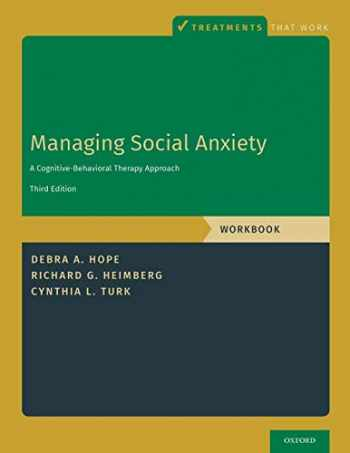9780190247638-0190247630-Managing Social Anxiety, Workbook (Treatments That Work)