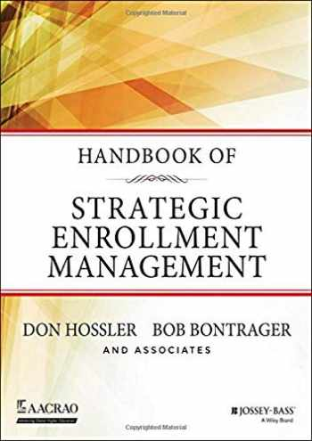 9781118819487-1118819489-Handbook of Strategic Enrollment Management (Jossey-Bass Higher and Adult Education (Hardcover))