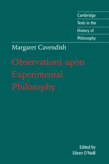 9780521776752-0521776759-Margaret Cavendish: Observations Upon Experimental Philosophy (Cambridge Texts in the History of Philosophy)