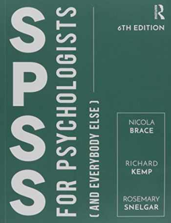 9781138189522-1138189529-IBM SPSS for Psychologists: Fifth Edition