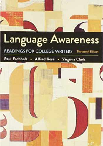 9781319353926-1319353924-Language Awareness 13e & Documenting Sources in APA Style: 2020 Update
