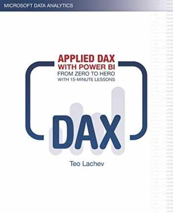 9781733046107-1733046100-Applied DAX with Power BI: From zero to hero with 15-minute lessons
