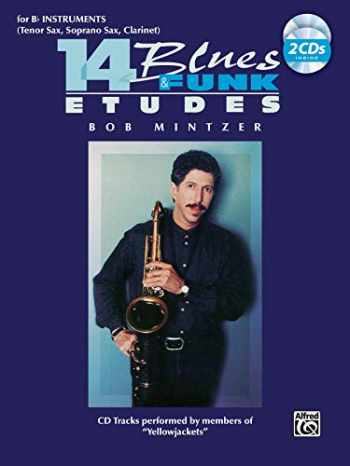 9781576235799-1576235793-14 Blues & Funk Etudes: B-flat Instrument (Tenor Sax, Soprano Sax, Clarinet), Book & 2 CDs