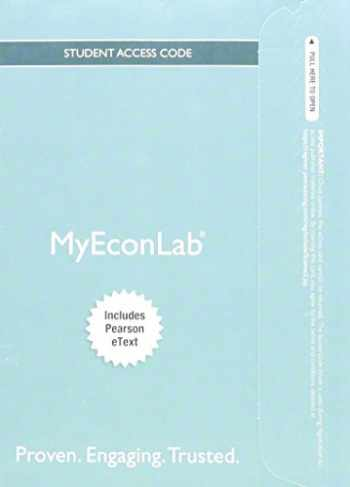 9780133918182-0133918181-MyLab Economics with Pearson eText -- Access Card -- for Economics