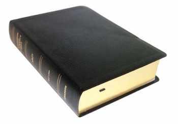 9780887075254-0887075258-NKJV - Black Bonded Leather - Regular Size - Indexed - Thompson Chain Reference Bible (023090)