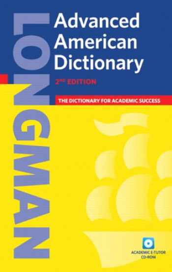 9781405829526-1405829524-Longman Advanced American Dictionary (hardcover), with CD-ROM (2nd Edition)