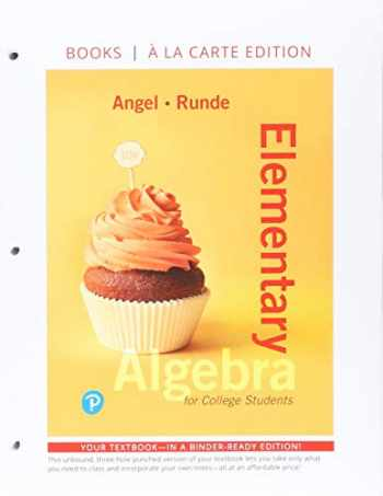 9780134776170-0134776178-Elementary Algebra for College Students, Books a la Carte Edition Plus MyLab Math -- 24 Month Access Card Package