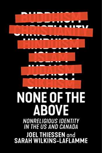 9781479860807-1479860808-None of the Above (Secular Studies, 4)