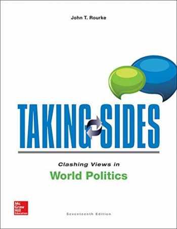 9781259342820-1259342824-Taking Sides: Clashing Views in World Politics