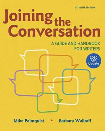 9781319361488-131936148X-Joining the Conversation: A Guide and Handbook for Writers with 2020 APA Update