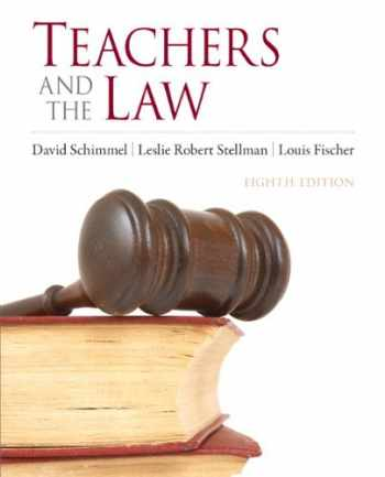 9780132564236-0132564238-Teachers and the Law (8th Edition)