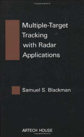 9780890061794-0890061793-Multiple-Target Tracking with Radar Applications (Artech House Radar Library) (Artech House Radar Library (Hardcover))