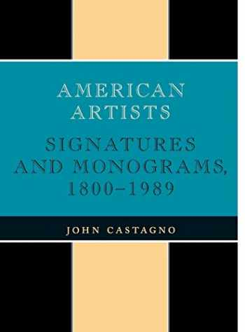 9780810822498-0810822490-American Artists: Signatures and Monograms, 1800-1989