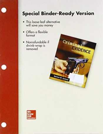 9781259656521-1259656527-Looseleaf for Criminal Evidence