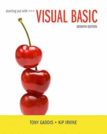 9780134522180-0134522184-Starting Out with Visual Basic Plus MyLab Programming with Pearson eText -- Access Card Package