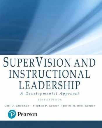 9780134290089-0134290089-SuperVision and Instructional Leadership: A Developmental Approach, with Enhanced Pearson eText -- Access Card Package (What's New in Educational Administration & Leadership)