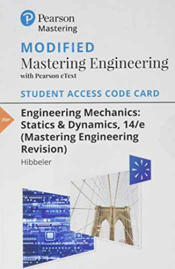 9780135699188-0135699185-Modified MasteringEngineering with Pearson eText -- Standalone Access Card -- for Engineering Mechanics: Statics & Dynamics