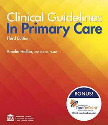 9781892418258-1892418258-CLINICAL GUIDELINES IN PRIMARY CARE