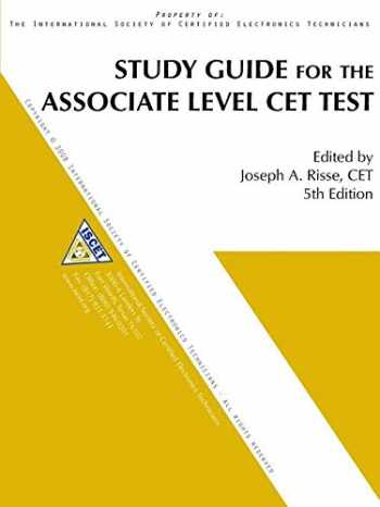 9780991432110-0991432118-Study Guide for the Associate Level CET Test