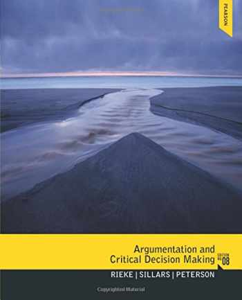9780205210596-0205210597-Argumentation and Critical Decision Making (8th Edition)