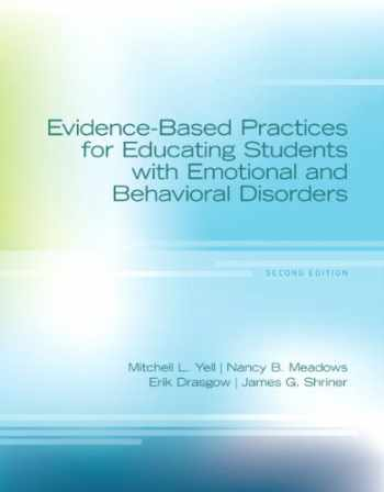 9780133386004-0133386007-Evidence-Based Practices for Educating Students with Emotional and Behavioral Disorders, Pearson eText with Loose-Leaf Verison -- Access Card Package (2nd Edition)