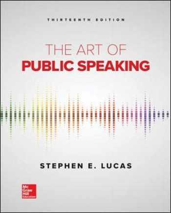 9781259924606-1259924602-The Art of Public Speaking