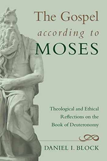 9781610978637-1610978633-The Gospel according to Moses
